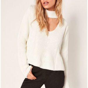Misguided Choker Sweater